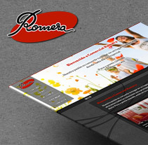 Comercial Romera. A UI / UX, Web Design, and Web Development project by Artur Mirabet         - 16.04.2014