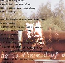Mark Lanegan: Death Valley B. Un proyecto de Diseño gráfico y Tipografía de Hèctor Salvany Peyrí         - 04.10.2010