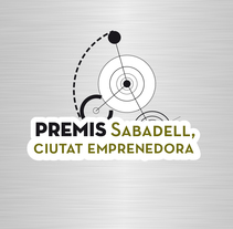 "Identidad Corporativa ""Premis Sabadell. Ciutat Emprenedora."". A Art Direction, Br, ing, Identit, and Graphic Design project by Carolina Carbó         - 04.05.2014"