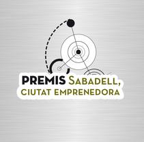 """Identidad Corporativa """"Premis Sabadell. Ciutat Emprenedora."""". Un proyecto de Br, ing e Identidad, Dirección de arte y Diseño gráfico de Carolina Carbó - Lunes, 05 de mayo de 2014 00:00:00 +0200"""