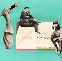 Colaboraciones con Zach Collins // Collab with Zach Collins. Un proyecto de Eventos, Diseño gráfico y Collage de inmantadagrafik  - 05-05-2014