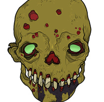 UNDEAD. A Illustration project by Natxo Uribe         - 06.05.2014