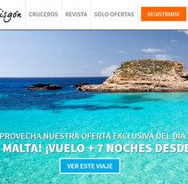 El Viajero Fisgón. A Advertising, UI / UX, Graphic Design, Information Architecture, Marketing, Web Design, and Web Development project by Marcos Huete Ortega         - 06.05.2014