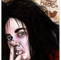 Selfie. A Illustration project by Madame Bizarre         - 30.04.2014