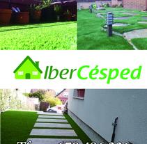 IberCésped. A Graphic Design project by Fernando Bello Ollero         - 12.05.2014