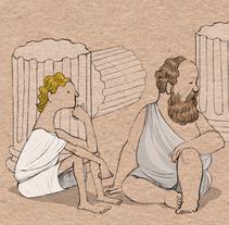 Conversaciones al borde de una barca. Un proyecto de Ilustración de Alejandro Antoraz Alonso - 14-05-2007