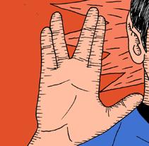 Dr. Spock. Um projeto de Ilustração de Fernando Pérez         - 21.05.2014