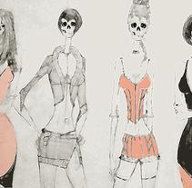 SKULLS MODELS. A Film, Video, TV, and Fine Art project by Patricia  Mendezt         - 27.05.2014