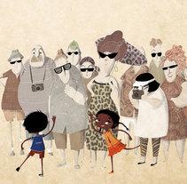 Una historia de la India. Un proyecto de Ilustración de Mariela Bontempi de Miguel - 29-05-2014