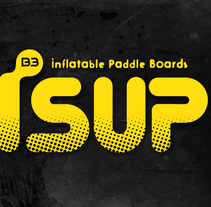 iSUP. Logo para Marca de Stand Up Paddle Surf. A Br, ing, Identit, Product Design, T, and pograph project by Carlos Cañellas - 13-05-2012