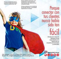 Directia, Promotional Logistics Leaders. Um projeto de Design, Design gráfico e Design de informação de José M. Miguel         - 21.04.2014