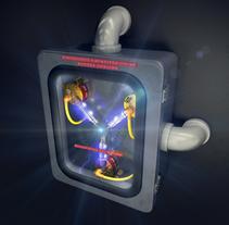 Condensdador de Fluzo. Um projeto de 3D de Alberto Álvarez         - 01.06.2014