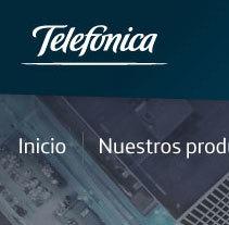Telefónica - Servicios Financieros. A Web Development project by Jesús Álvaro Rodríguez - 08-06-2014
