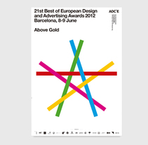 Above Gold - ADCE. A Graphic Design project by Bisgràfic         - 09.06.2014