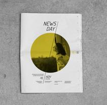 Diseño editorial / NewsDay,  para  Hoy es el día, estudio de diseño sostenible.. A Br, ing, Identit, Editorial Design, and Graphic Design project by Nacho Evangelisti / Graphic Design Studio  - Jun 16 2014 12:00 AM