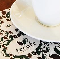 Tecafé. A Br, ing, Identit, and Graphic Design project by Gabriel Granda - 17-06-2014