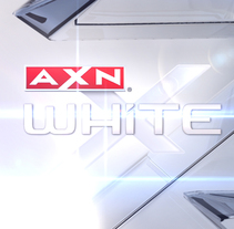 ID AXN white. A Film, Video, TV, 3D, Br, ing&Identit project by Maykol Saenz - 30-06-2014