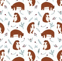 Christmas Patterns. A Design&Illustration project by ana seixas         - 01.07.2014