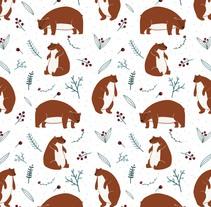 Christmas Patterns. Un proyecto de Diseño e Ilustración de ana seixas         - 01.07.2014