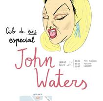 Ciclo de cine John Waters. A Illustration, and Graphic Design project by Abel  Pérez Ramos         - 04.07.2014