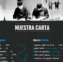 Decomeraparte.es. Un proyecto de Dirección de arte, Diseño Web y Desarrollo Web de Nacho Salvador         - 06.07.2014