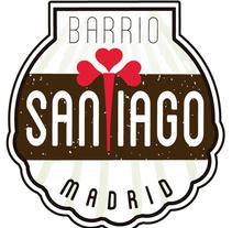 Logo Barrio de Santiago (Madird). Un proyecto de Diseño, Br e ing e Identidad de Nacho Salvador         - 06.07.2014