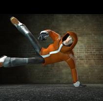 OLD_SCHOOL_3D. Un proyecto de Diseño de juegos de Roberto Ampudia Sanchez - Jueves, 10 de julio de 2014 00:00:00 +0200