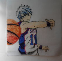 Kuroko . A Illustration project by Erick Miguel  Martínez Ortega       - 12-07-2014
