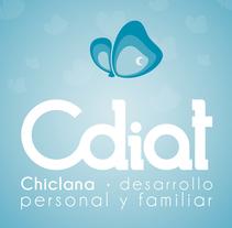 Cdiat Chiclana | Diseño de imagen corporativo. A Design, Illustration, Graphic Design, and Web Design project by Pablo Cappa         - 14.07.2014