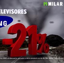 Spot Milar. Um projeto de Motion Graphics, Cinema, Vídeo e TV, Animação, Design gráfico e Pós-produção de Sergi Sanz Vázquez         - 09.07.2014