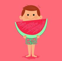 Cómete el Verano. Um projeto de Ilustração, Br, ing e Identidade e Packaging de Menú  familiar  - 16-07-2014