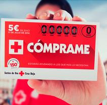 Campaña Cruz Roja - Sorteo de Oro'14. Um projeto de Design, Br, ing e Identidade, Consultoria criativa, Web design e Desenvolvimento Web de Fran Fernández         - 19.07.2014