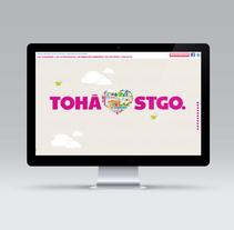 Web Carolina Tohá. A Design, Illustration, Graphic Design, Web Design, and Web Development project by Julio Valdés Boccardo         - 21.07.2014