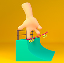 4 Fingers Tv. A Illustration, 3D, and Animation project by Drasik Drasik  - Jul 31 2014 12:00 AM