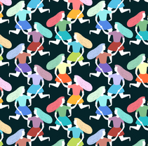 Pattern People. A Illustration, and Graphic Design project by ana seixas         - 30.07.2014