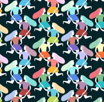 Pattern People. Un proyecto de Ilustración y Diseño gráfico de ana seixas         - 30.07.2014