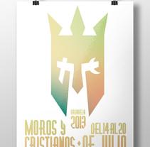 Moros y Cristianos. Um projeto de Design gráfico de Manuel Navarro         - 01.08.2014