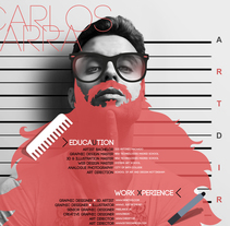 Carlos Parra Director de Arte, CV. Um projeto de Design, Ilustração, Publicidade, Fotografia, Direção de arte, Br, ing e Identidade e Design gráfico de Carlos Parra Ruiz - 03-08-2014