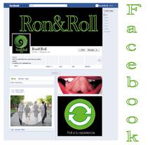 Campaña Ron&Roll (mojito) Facebook. Un proyecto de Publicidad de Nitzia Venegas Torres         - 04.08.2014