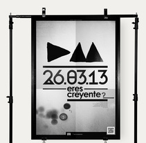 Depeche Mode Poster. Un proyecto de Br, ing e Identidad, Diseño editorial y Tipografía de Iñaki de la Peña - 06-03-2013
