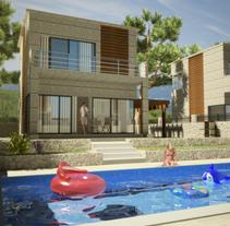 3D Urbanización_002. Un proyecto de 3D y Arquitectura de Sergio Fernández Moreno         - 04.08.2014