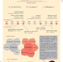 Curriculum Creativo. Um projeto de Br, ing e Identidade, Design editorial e Design gráfico de Nerea Gutiérrez         - 11.08.2014