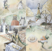 Rumpelstiltskin. A Illustration project by Natalia Salvador - 01-07-2017