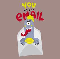 """Serie """"monstruos"""". Un proyecto de Br, ing e Identidad, Diseño gráfico e Ilustración de El niño Vudu  - Martes, 19 de agosto de 2014 00:00:00 +0200"""