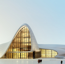 Heydar Aliyev based on Zahaa Hadid´s Building. A Architecture project by Lemons Bucket CB  - 21-08-2014
