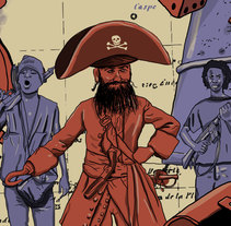 Piratas . A Illustration project by Ernesto_Kofla  - Aug 27 2014 12:00 AM