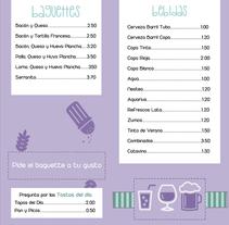 Cafetería Pabellón. Um projeto de Design gráfico de papa papa - 01-09-2014