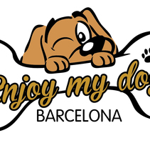 Imagen corporativa - ENJOY MY DOG. A Graphic Design project by Oriol Samper Santos - 03-07-2014