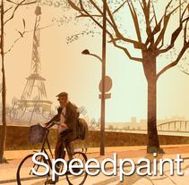 Speedpaint, ilustraciones en 30 min.. A Illustration project by Xoan Baltar         - 04.09.2014