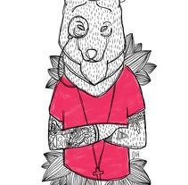 HOMBRE LOBO.... A Illustration project by Álvaro Parra Romo         - 04.09.2014